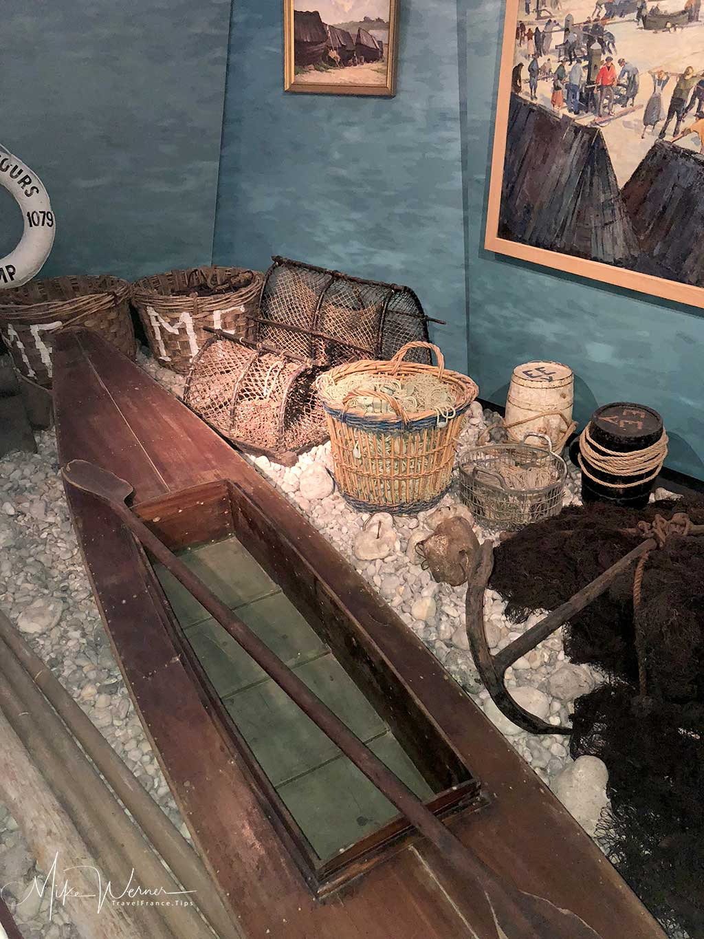 Inside the Fisheries Museum of Fecamp