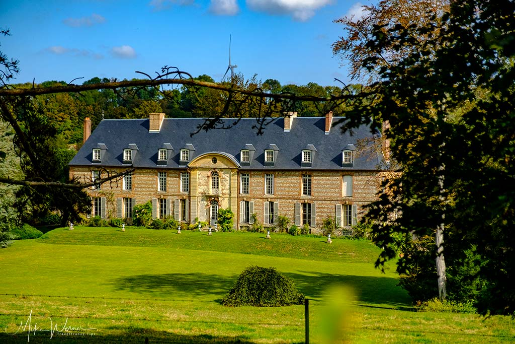 The Castle of Gueures in Upper Normandy