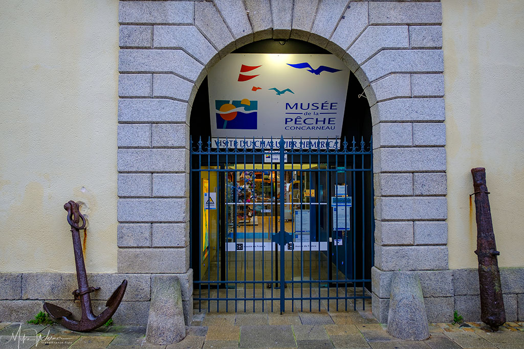 Fishing museum of the walled city of Concarneau