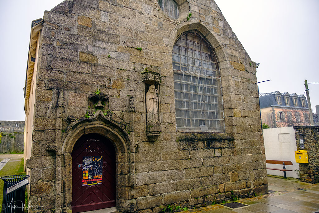 Hospital Chapel of the walled city/town of Concarneau