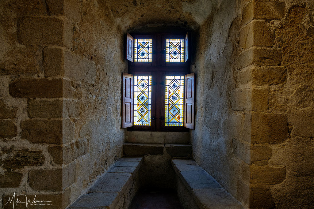 One of many alcoves in the Chateau/Fortress Suscinio in Brittany