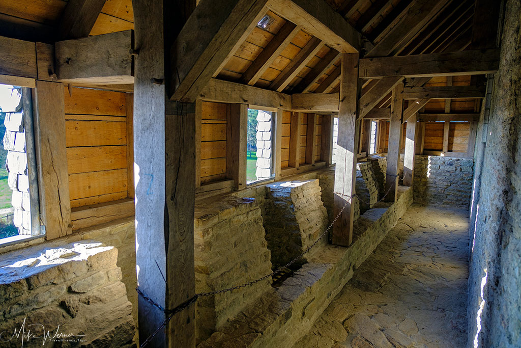 Defensive positions in the Chateau/Fortress Suscinio in Brittany