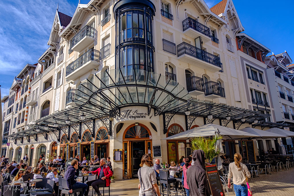 Classical building in Arcachon city centre