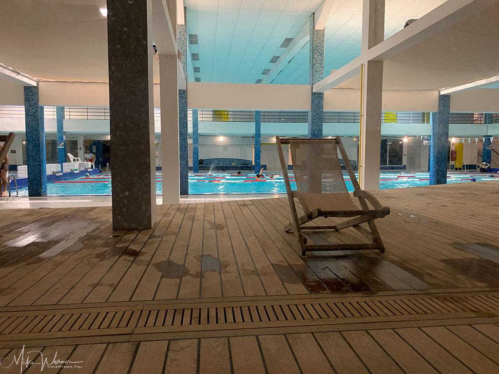 Municipal swimming pool in Biarritz