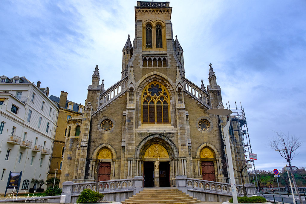 Sainte-Eugenie Church in Biarritz