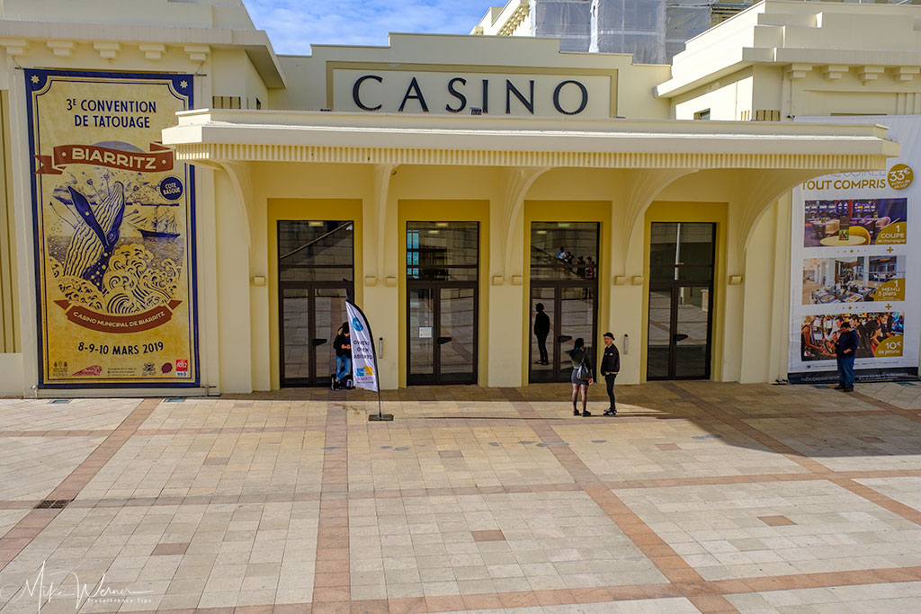 Entrance to the Barriere casino