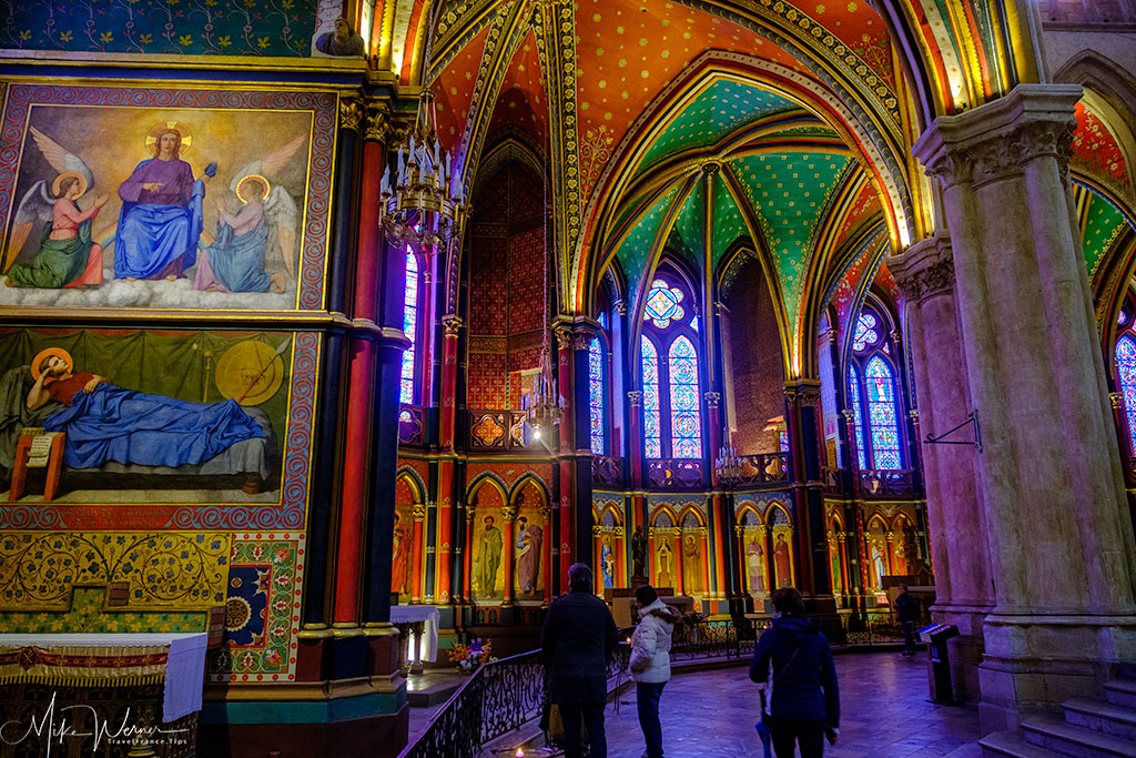 Inside the Cathedral of Bayonne