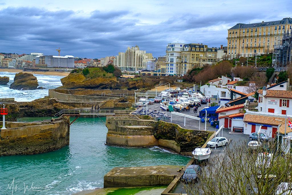 Biarritz harbour