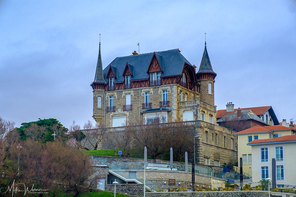 A building in Biarritz