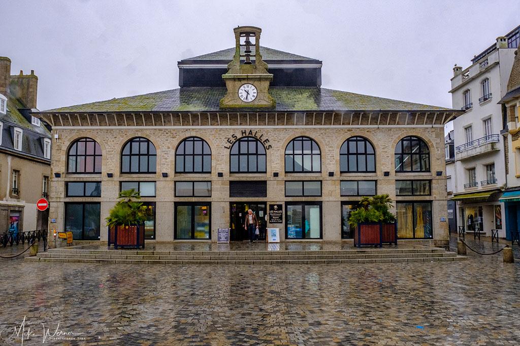 Covered market (Les Halles) of Concarneau