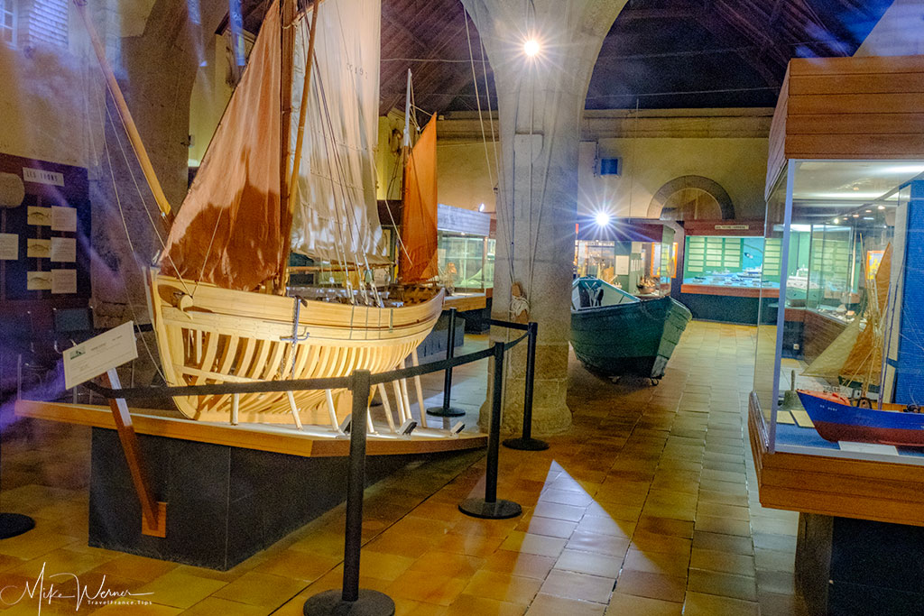 Fishing museum of Concarneau's walled city