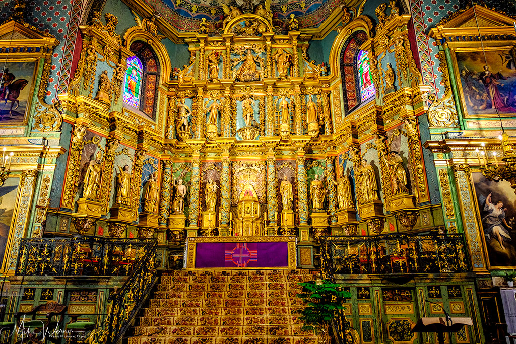 Saint-Jean-Baptiste church Altar in Saint-Jean-de-Luz
