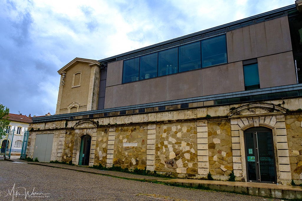 Rear of the Valence museum of archaeology and art building