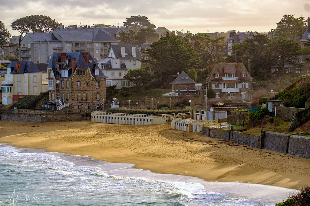 Plage de l'Ecluse (Locks Beach) of Dinard