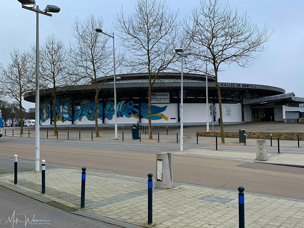 Halles (food market) of Lorient