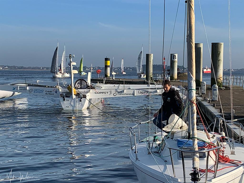 Race sailboats