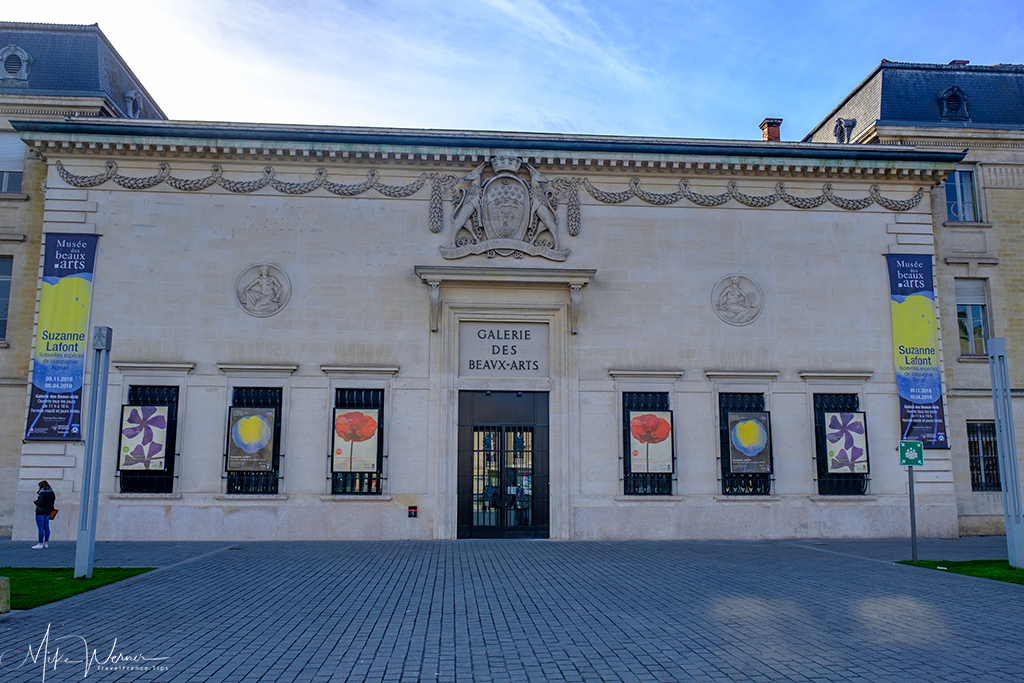 Gallery of Fine Arts annex building in Bordeaux