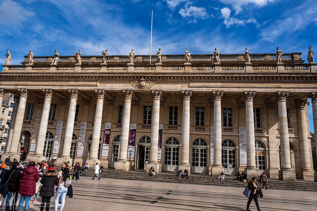 The Grand Theatre de Bordeaux (Opera/theatre)