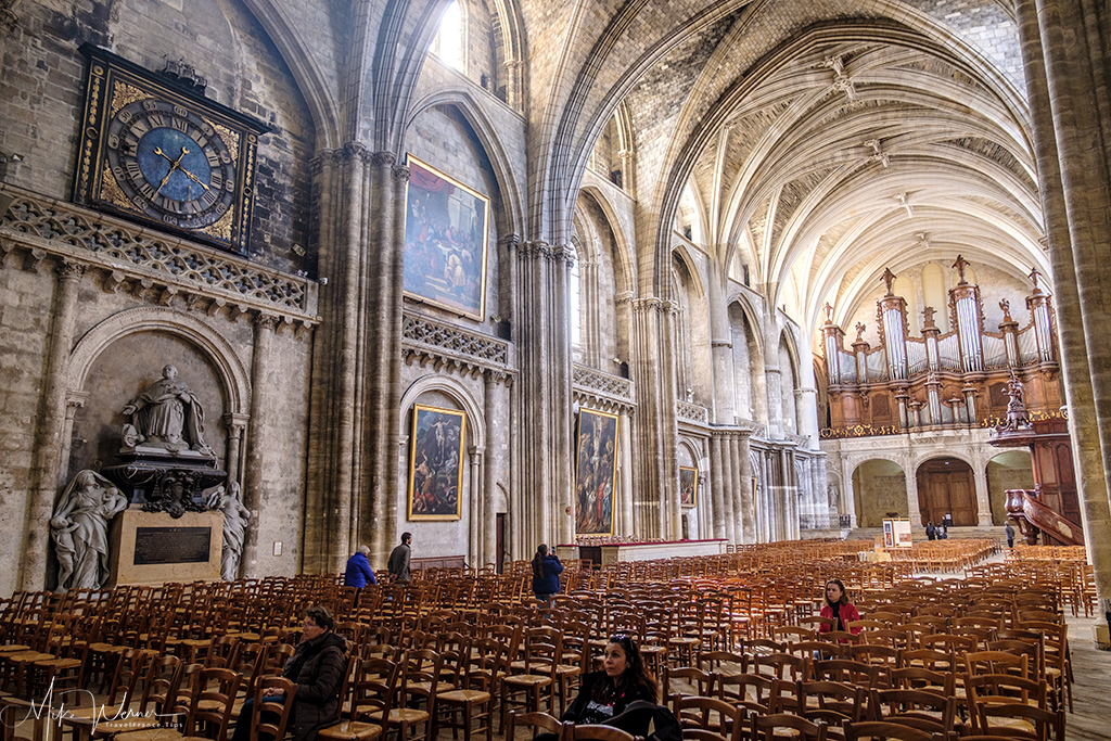 Inside the Bordeaux Cathedral