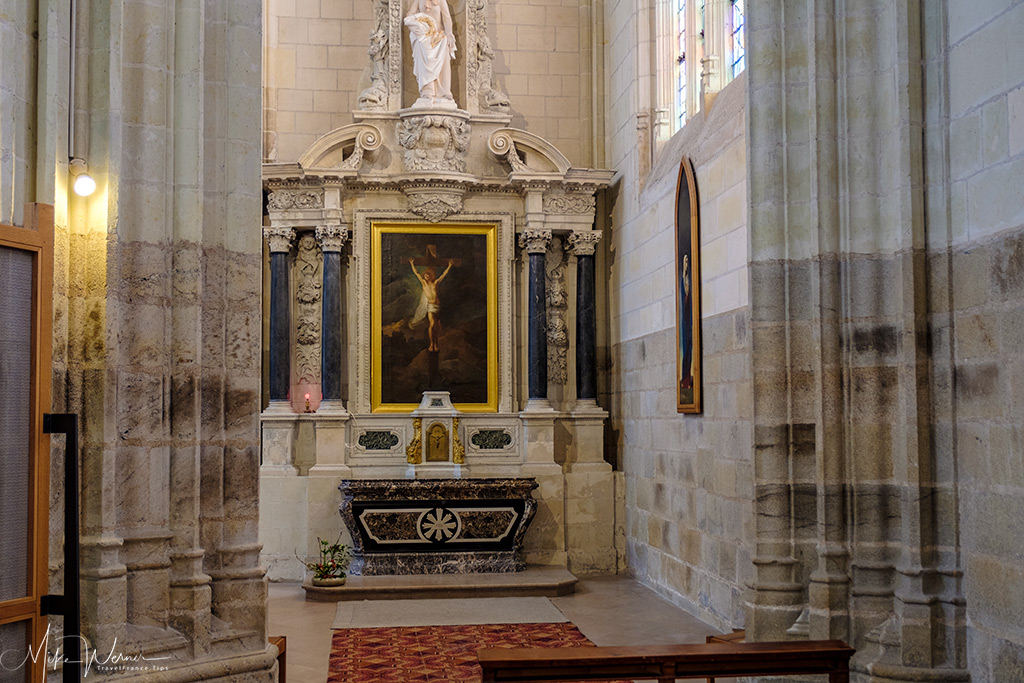 Chapel in the Nantes cathedral