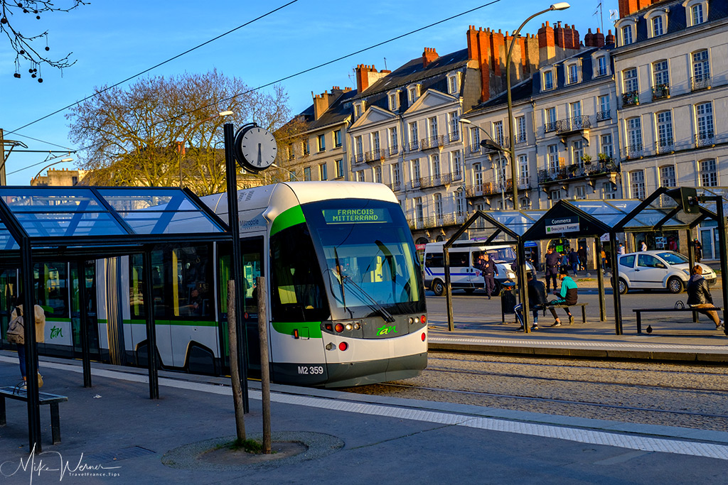 Tramway from TAN in Nantes