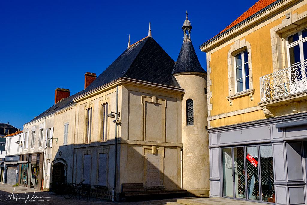 The Sainte-Marie-Euphrasie chapel in Noirmoutier-en-l'Ile