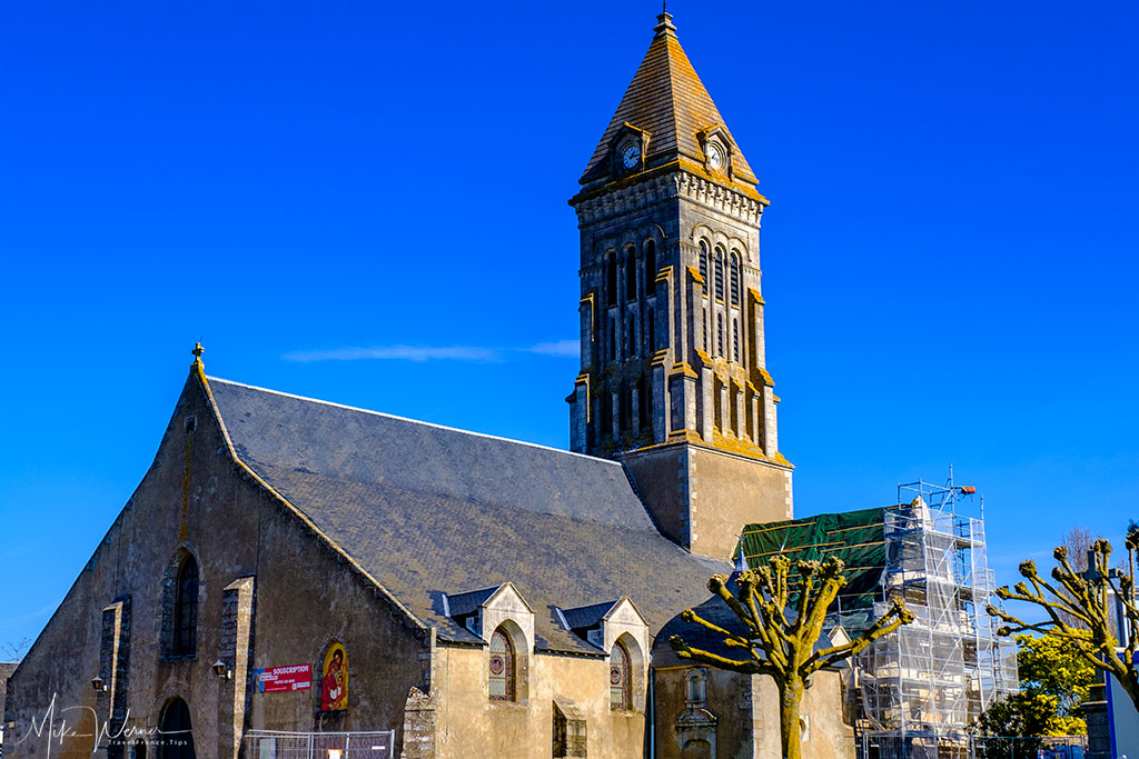 Saint-Philbert church in Noirmoutier-en-l'Ile