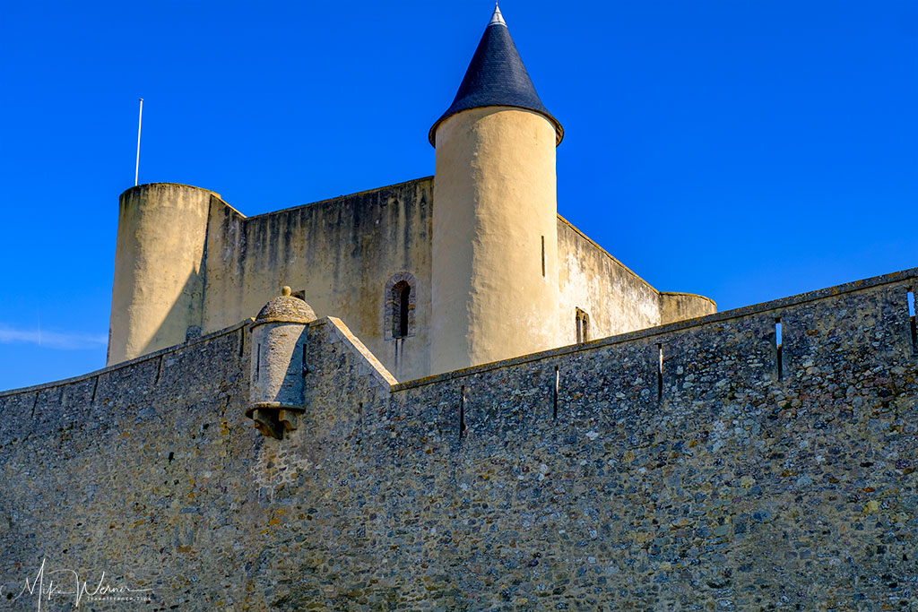 The main keep of the Noirmoutier castle Noirmoutier-en-l'Ile