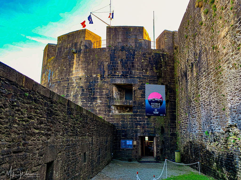 Entrance to the Brest Castle/Fortress in Brittany