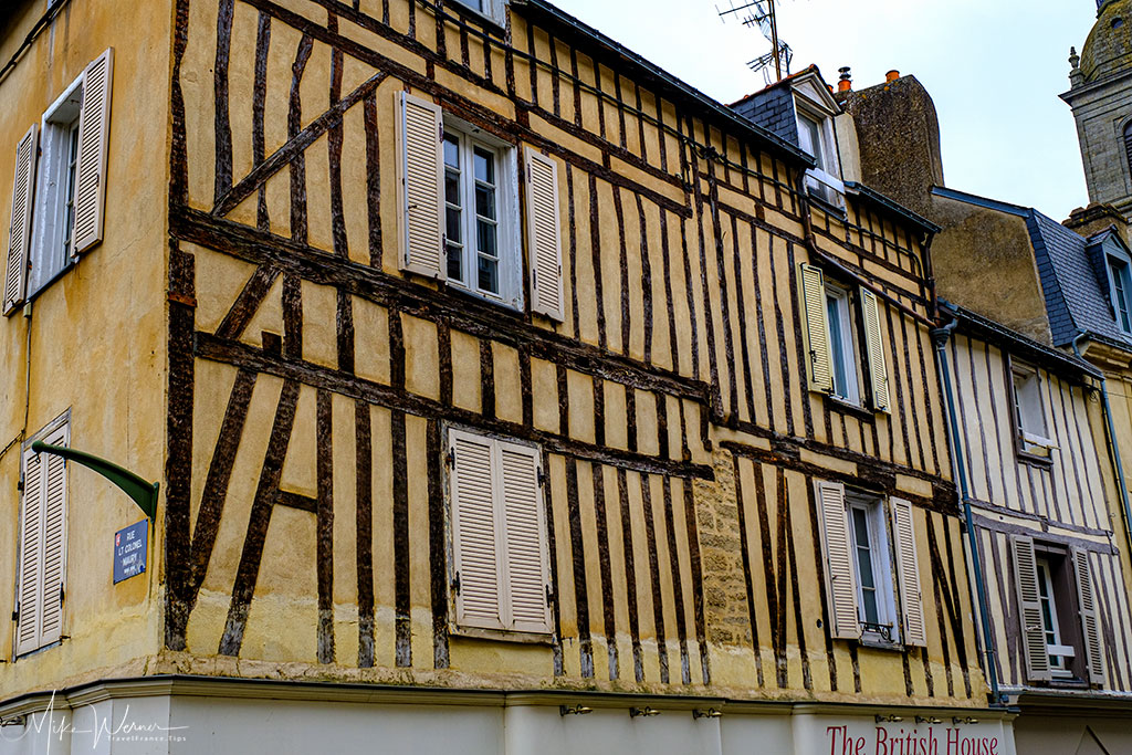 The British House in a wooden house in Vannes, Brittany