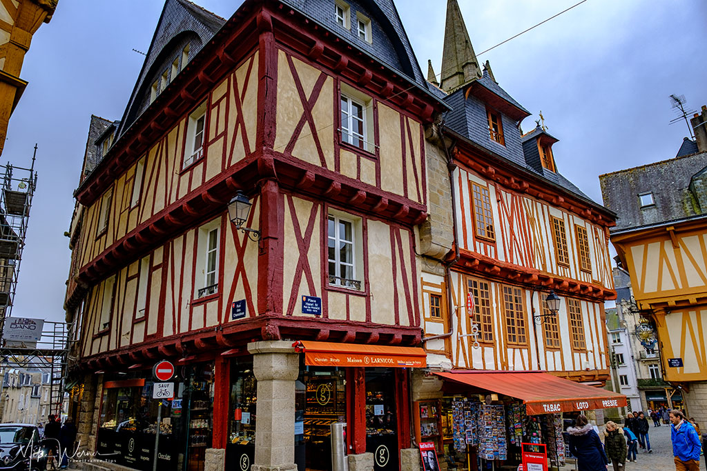 Upscale bakery in Vannes, Brittany
