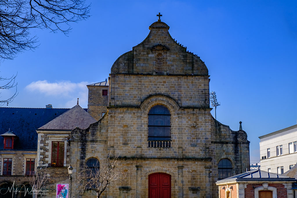 The church portion of the former Carmel Monastery in Vannes, Brittany