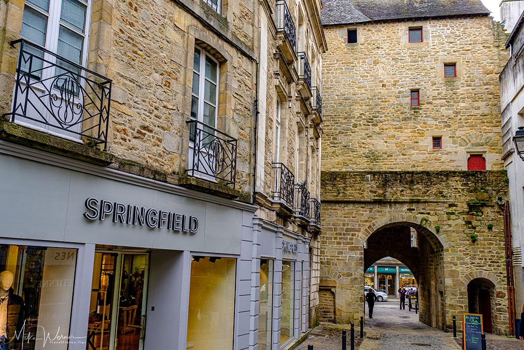 Prison Gate (Porte Prison) alongside the ramparts of Vannes
