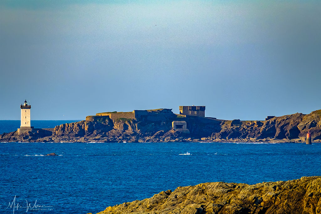 WWII Bunkers and 2nd lighthouse at the Pointe Saint-Mathieu