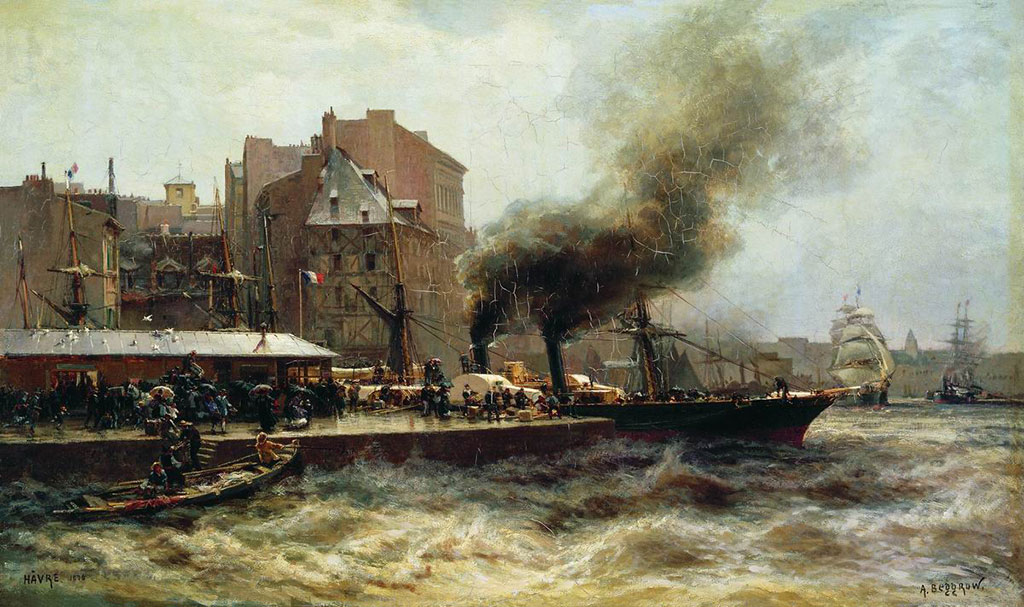 1876 Alexander Beggrov - High Tide