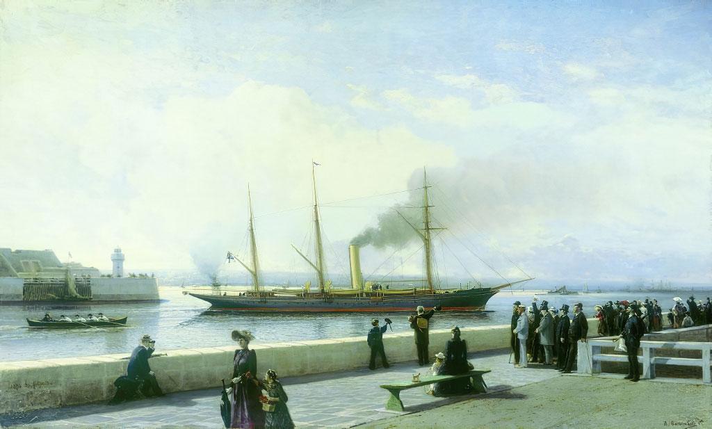 1852 - Alexey Bogoliubov - Le Havre
