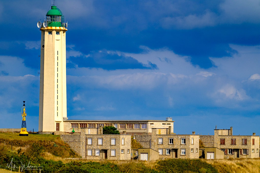 The lighthouse of Criquetot-L'Esneval in Normandy