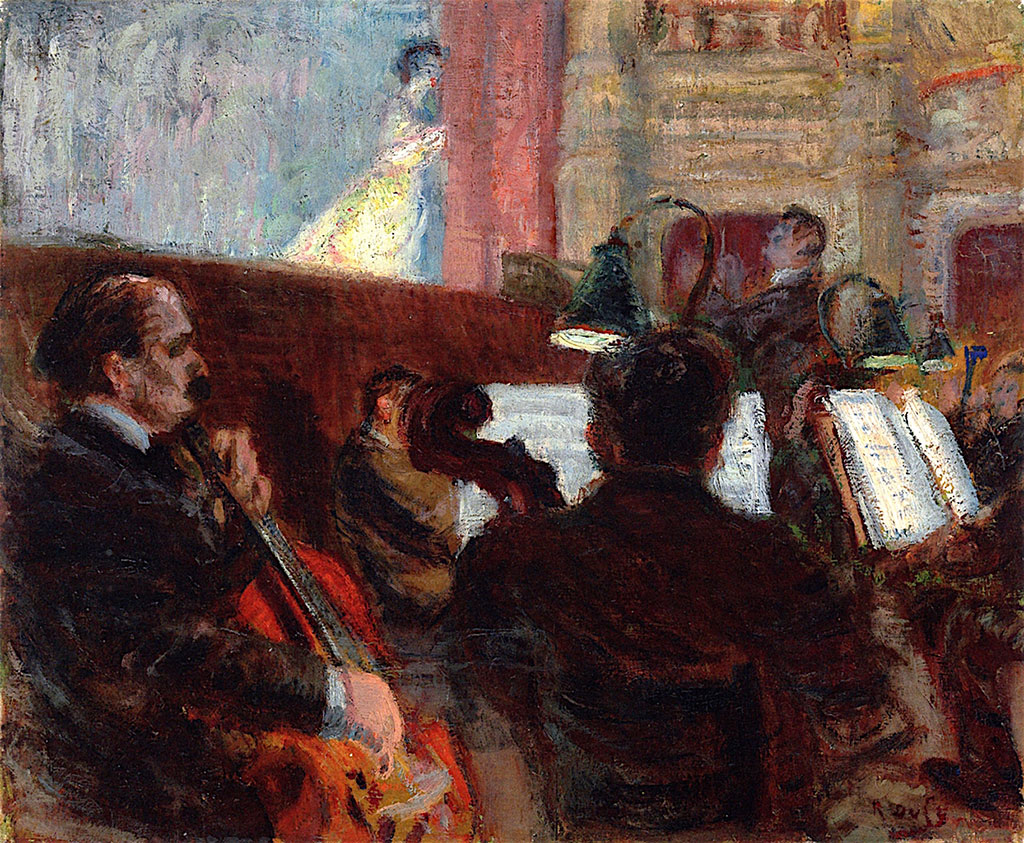 1902 Raoul Dufy - The Orchestra of Theatre of Le Havre