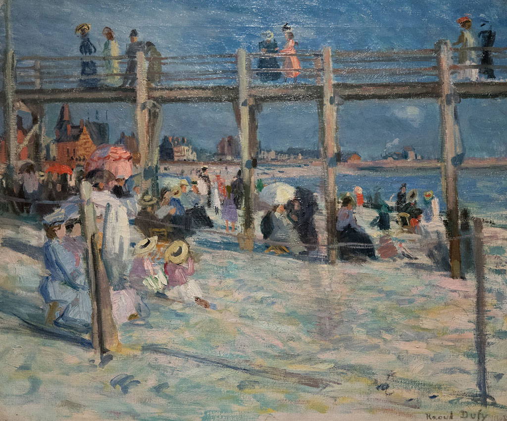 1903 Raoul Dufy - Marie Christine Baths at Sainte Adresse