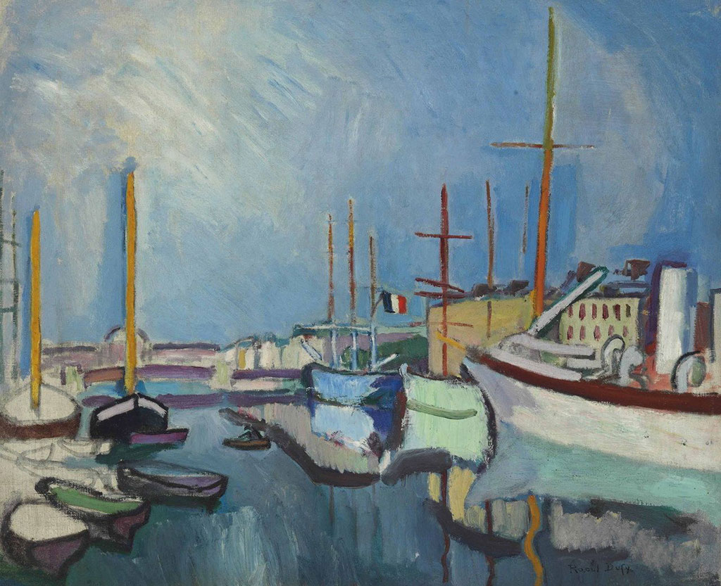 1905 Raoul Dufy - The Port of Le Havre