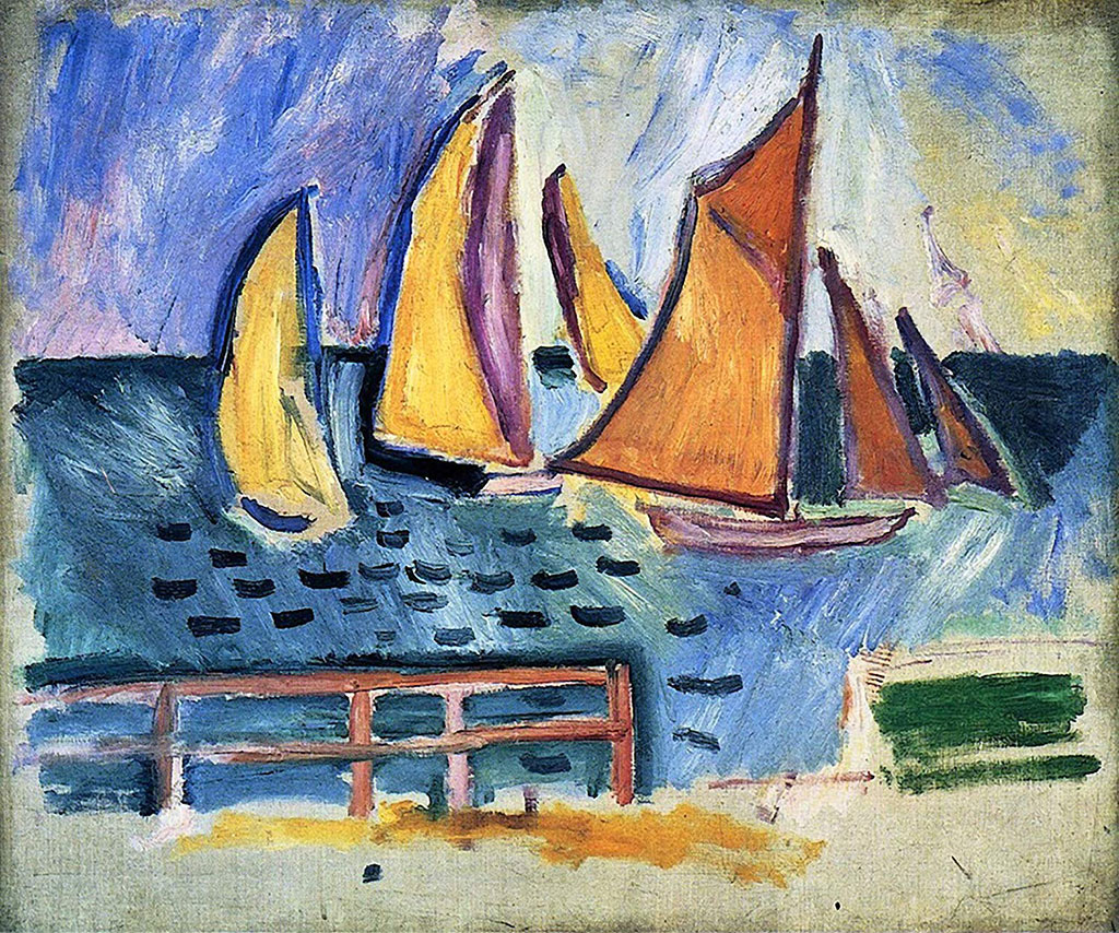 1906 Raoul Dufy - Departure of the Regattas at Le Havre