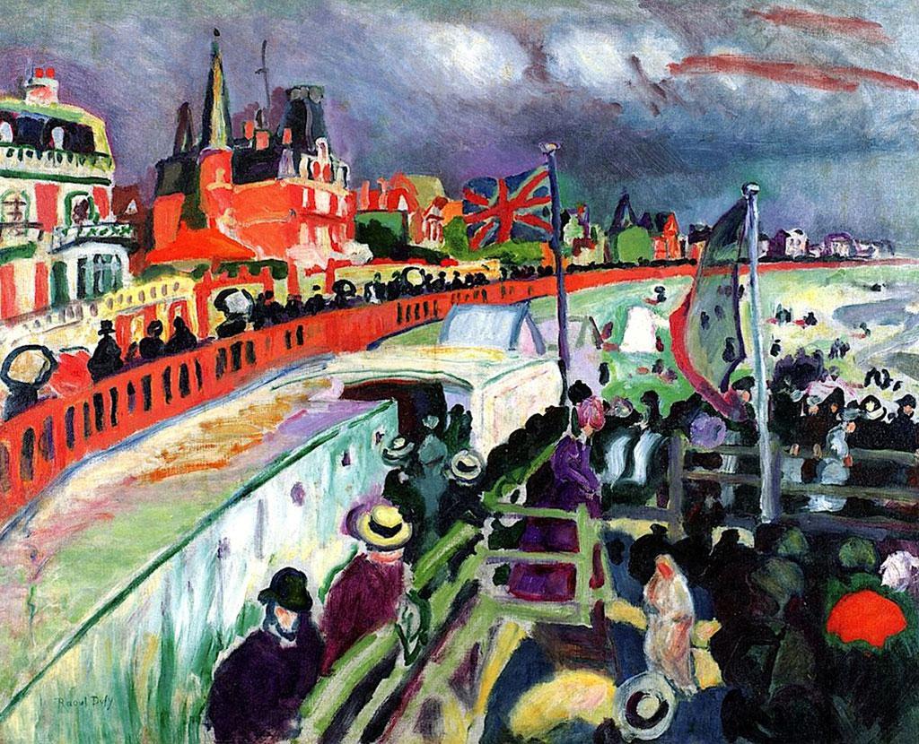 1906 Raoul Dufy - Festival at Sainte Adresse
