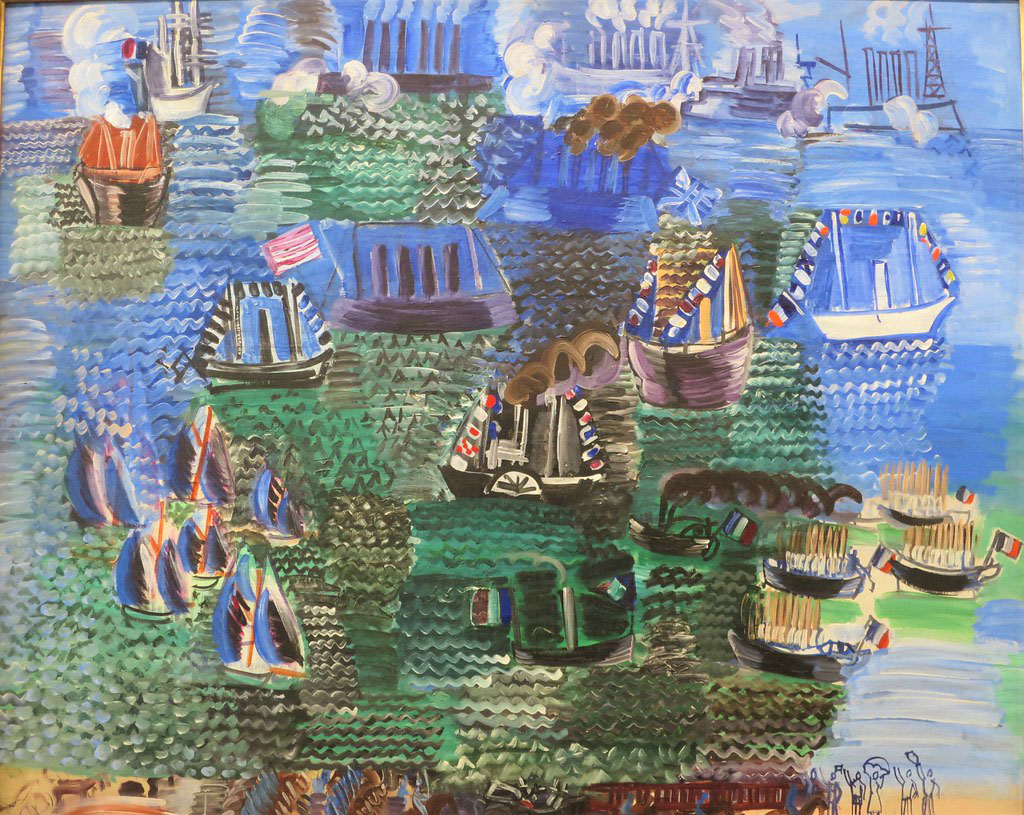 1925 Raoul Dufy - Maritime Fete and Official Visit to Le Havre