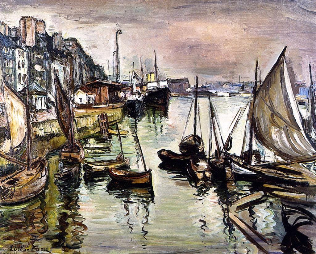 1930 - Othon Friesz - The Port of Le Havre