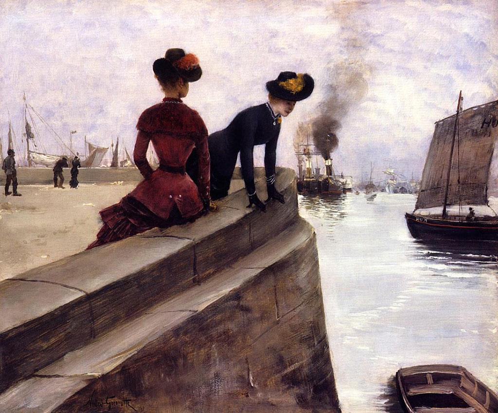 1887 - Norbert Goeneutte - On the Jetty
