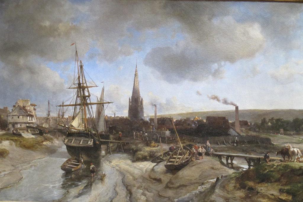 1850 Johan Jongkind - View of Harfleur