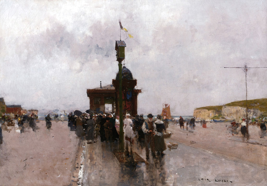 ???? Luigi Loir - On the Quai in Le Havre