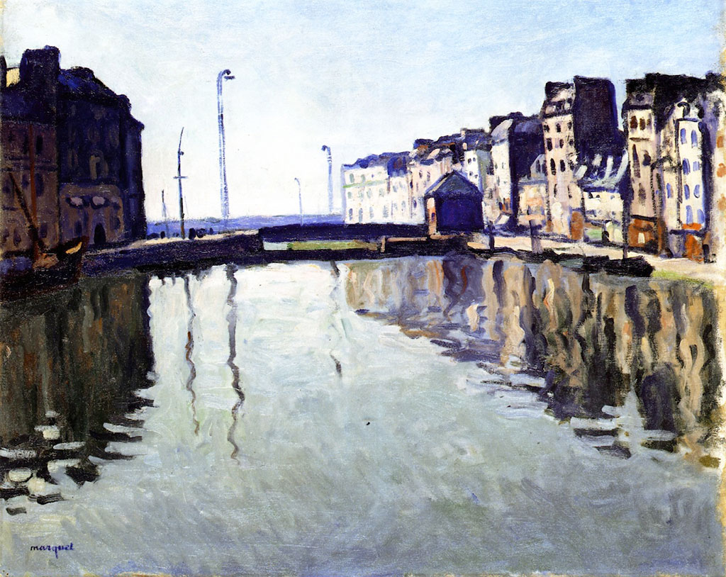 1905 Albert Marquet - Dock at Le Havre