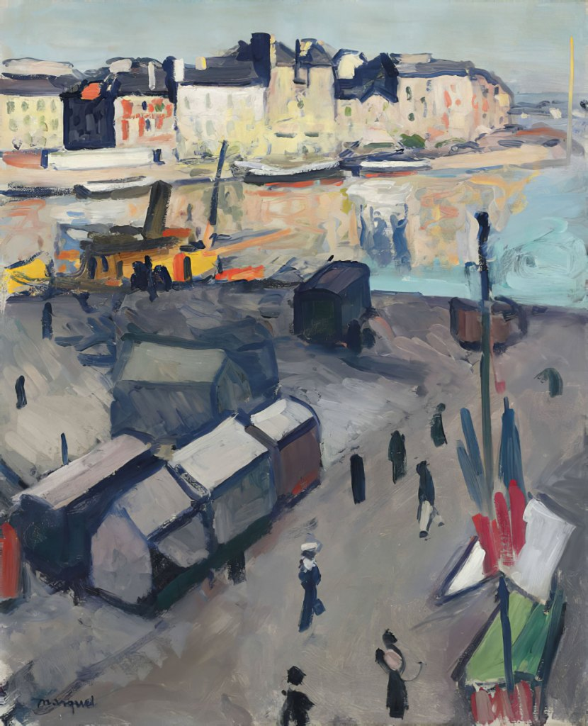 1906 Albert Marquet - Le Havre, the Basin