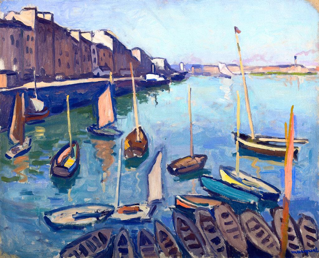 1906 Albert Marquet - The Port, Le Havre